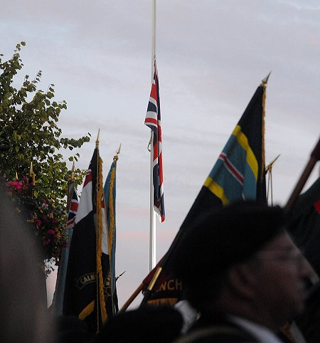 Wootton Bassett sunset ceremony