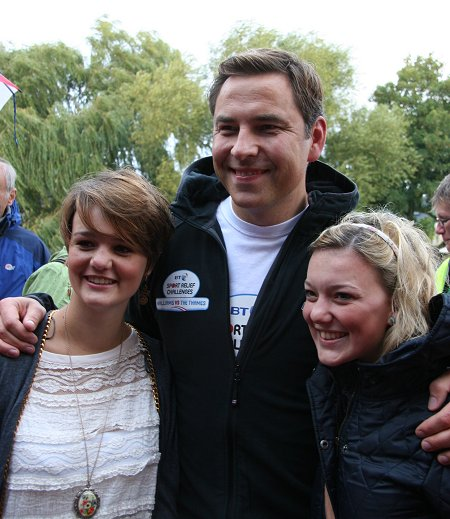 David Walliams at lechlade