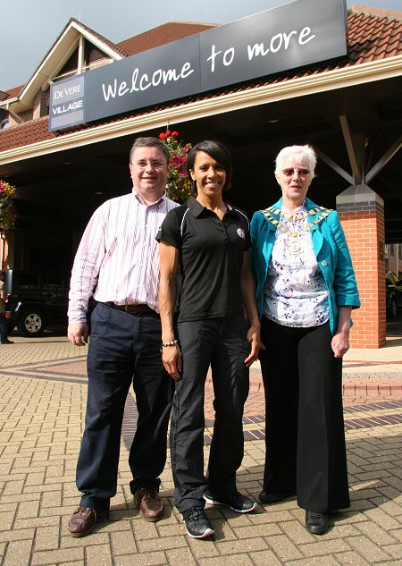 Kelly Holmes at The De Vere Village Swindon