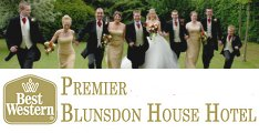 Weddings at Blunsdon House Hotel Swindon