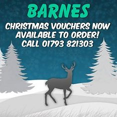 Barnes Christmas Vouchers
