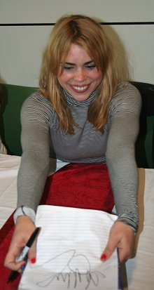 Billie Book signing at Asda Walmart