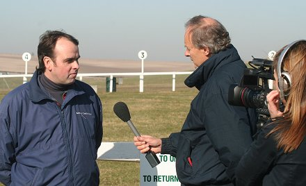 Alan King at Barbury Castle