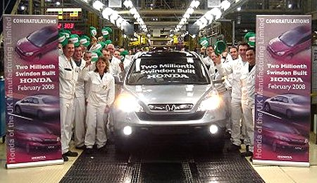 Honda Two-Millionth Car
