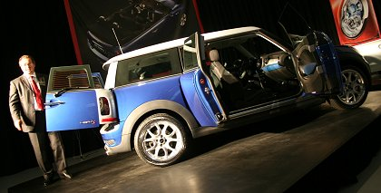 Mini Clubman Launch 2007