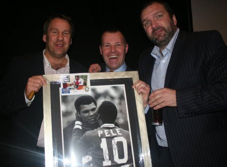 An evening of football banter with Neil 'Razor' Ruddock and Paul Merson
