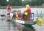 Challenge Swindon 2008 - Dragon boating