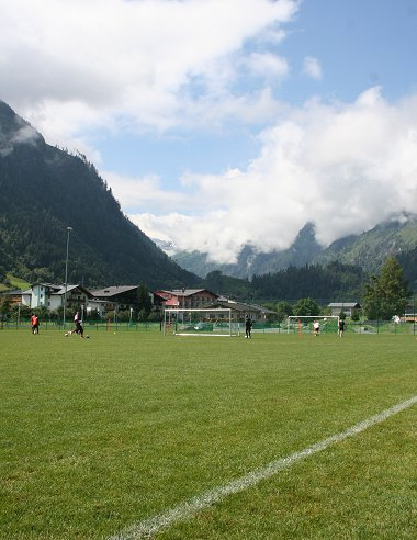 Swindon Town training in Austria