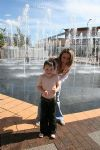 Fountains of fun at Orbital Shopping Park
