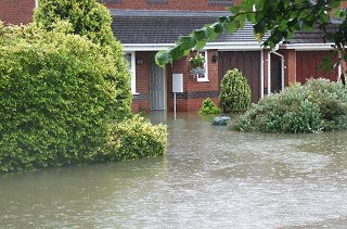 Flooding in Swindon 2007