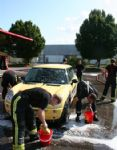 Swindon Fire Station Car Washing Day