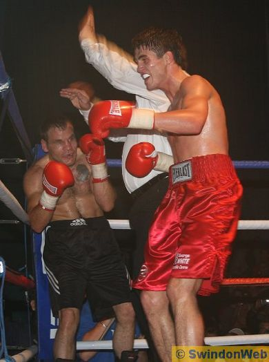 Pro Boxing at the Oasis