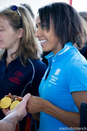 Dame Kelly Holmes in Swindon