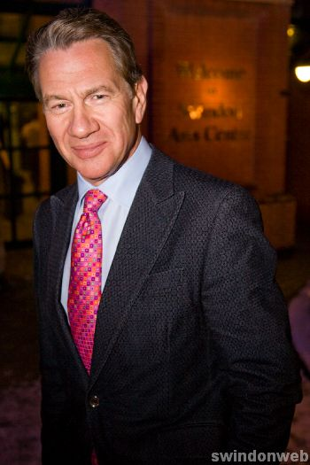 Michael Portillo at the Arts Centre in Swindon