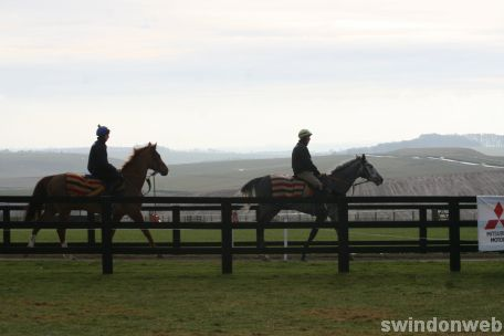 Alan King Stable Visit 2009