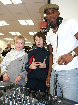 DJ Spoony mixes it up in Swindon