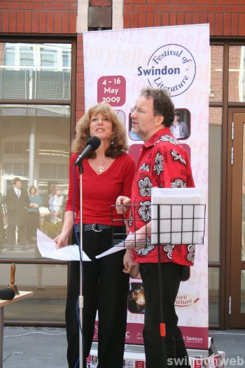 Swindon Festival of Literature launch