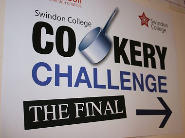 Swindon College Cooking Challenge