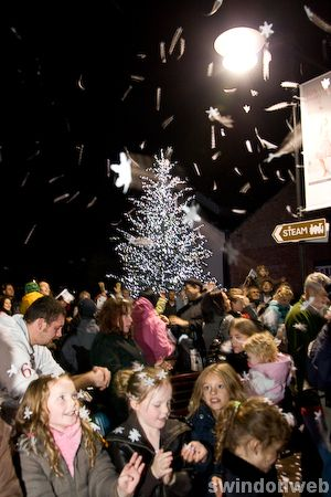 Outlet Centre Christmas Lights 2009