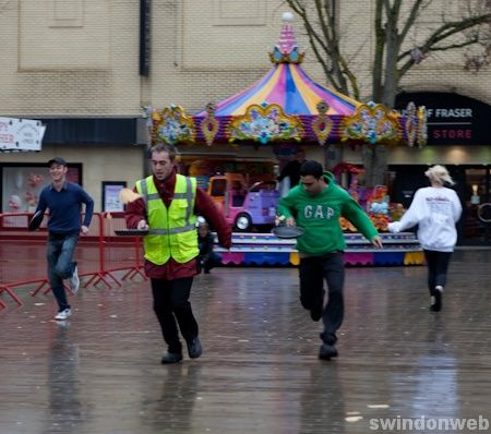 Swindon's Pancake Race 2010