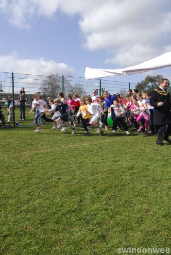 Sport Relief 2010 - Kingsdown School