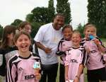 Swindon Football Festival with John Barnes 2010