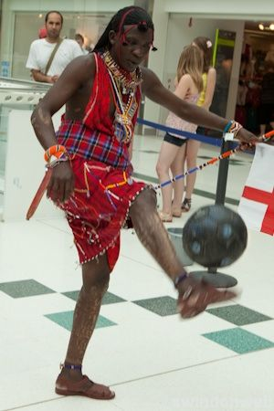 Maasia Tribe at the Brunel Shopping Centre
