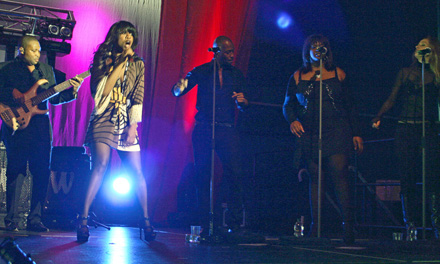 Beverley Knight and Her Back-Up Singers