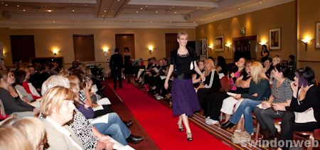Fashion event at the Marriott