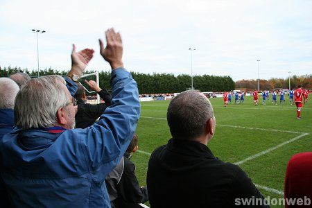 Swindon Supermarin v Eastwood FA Cup 1st Round