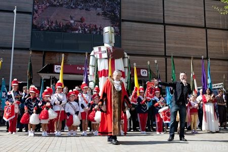 St George's Day Swindon