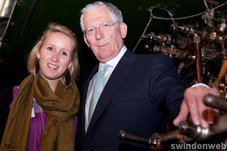 Nick Hewer in Swindon